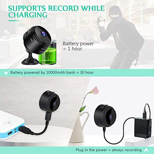 Mini Spy Camera Wifi Hidden Camera Bigear Wireless Hd