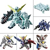 Gashapon warrior NEXT real type color version 03 anime Gundam Gacha Bandai all six Furukonpu set