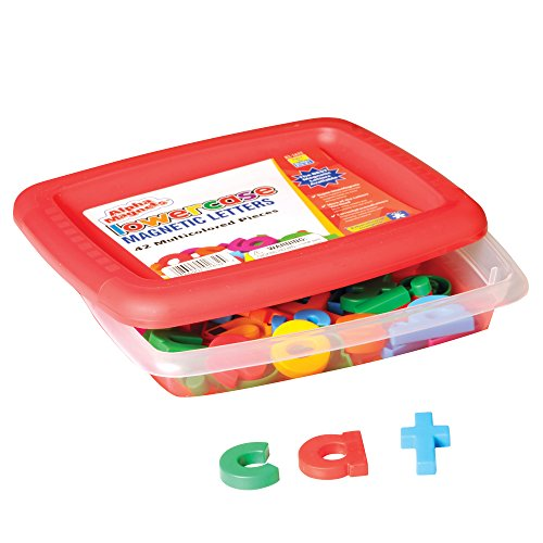 - Educational Insights AlphaMagnets - Multicolored Lowercase (Set of 42)