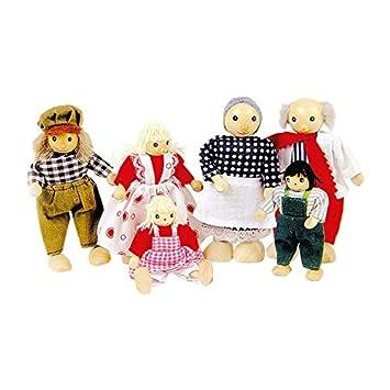 Extremidades Pure Muñecos So204 Toys Familia Goki Articuladas De Con wOX08nPk