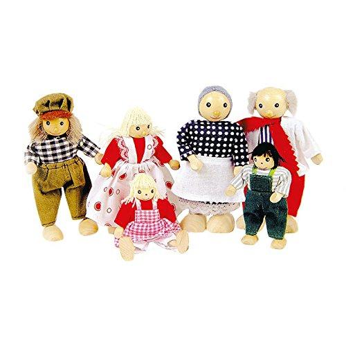 Goki - Biegepuppen Familie