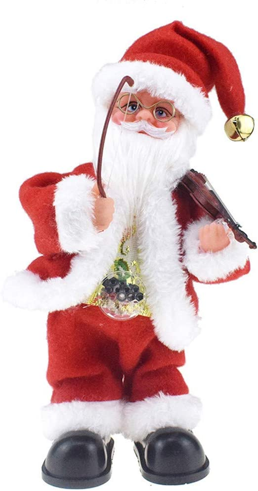 Christmas No Face Santa Claus Doll Toy Party Table Ornament Home Decor Cloth