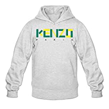 Enlove Kenzo Paris Thin Casual Hoodies For Male Without Pockets