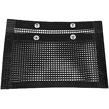 Yosooo BBQ Grill Mesh Bag Non-Stick BBQ Bake Bag Heat-Resistant Mesh Grilling Bag Outdoor Picnic Tool(S)