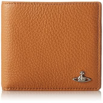 Vivienne Westwood Man Leather Card Case,Tan,One Size
