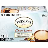 k cup coffee chai latte - Twinings French Vanilla Chai Latte, Keurig K-Cups, 12 Count