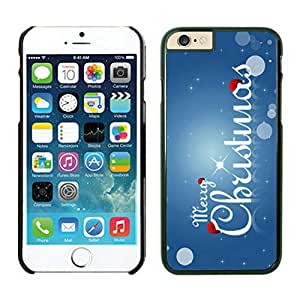 The Christmas Tree On Christmas Day Lovely Mobile Phone Protection Shell for iphone 6 Case-Unique Soft Edge Case(2015),Merry Christmas iPhone 6 Case 46 Black