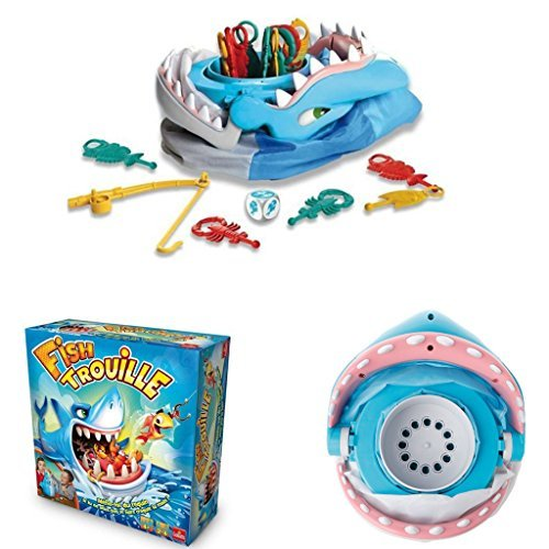 Coldtoy Great White Shark Board Game Family Party game Interactive Fun Shark Toys -