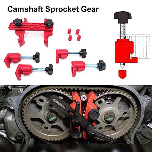 Repair Tool Ykcw 5Pcs/Pack Universal Car Dual Cam Clamp Auto Camshaft Sprocket Gear Cam Lock Tool Kit Car Repair Tools