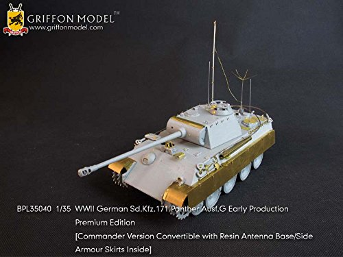 (Griffon Model 1/35 WWII German Sd.Kfz.171 Panther Ausf.G Early Production Premium Edition BPL35040)