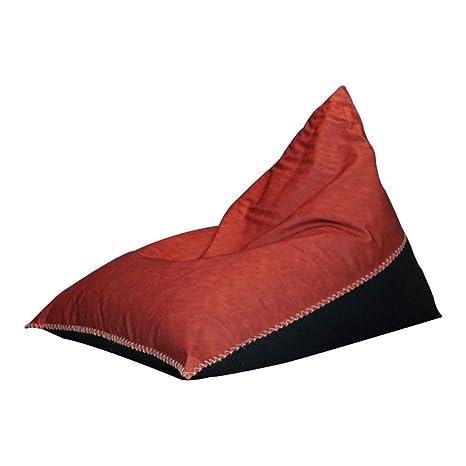 Amazon.com: Puf de piel mate para sofá, sin lavar, con asa ...