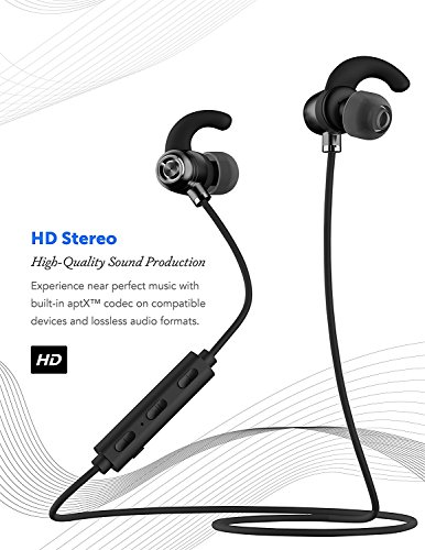 Sonim XP STRIKE Bluetooth Headset In-Ear Running Earbuds IPX4 Waterproof with Mic Stereo Earphones, CVC 6.0 Noise Cancellation, works with, Apple, Samsung,Google Pixel,LG by Ixir (Image #8)