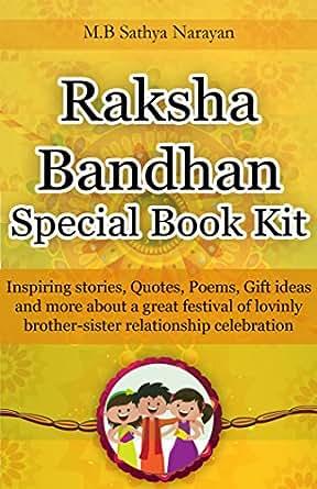 Amazoncom Raksha Bandhan Festival Special Book Kit Inspiring