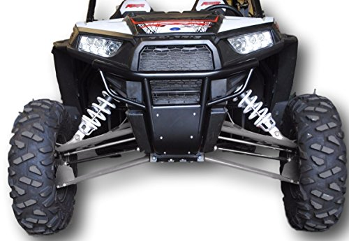 Polaris RZR 1000, Turbo, 900 50'' Trail, 900S, 1000S, Front Bumper (Black) by UTVGiant