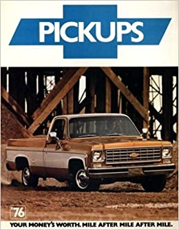 A Collectible Original 1976 Chevy Pickup Trucks Dealership