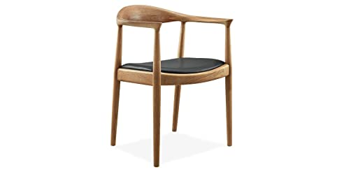 sessel stuhl armlehnenstuhl replik the chair hans wegner designer vetrostyle hellbraun - Stuhl Replik