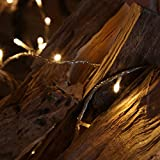 40 LED Fairy String Lights on 3.2m Clear Cable by Festive Lights (Warm White) Bild 8