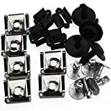 Undertray Guard Engine Under Cover Fixing Fitting Clips Kit