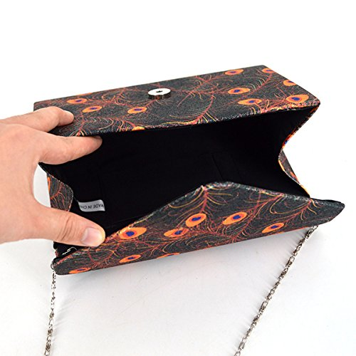 body Evening Bag Handbag Bag 1946 Sling Chain Women Monique Black Cross Clutch Bag Mini Bag HnxzwfRq54