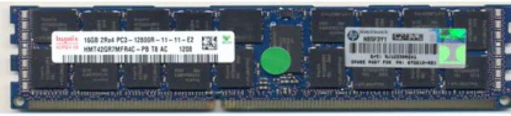 HP 684031-001 HP 16GB 2RX4 PC3-12800R MEMORY MODULE (1X16GB)