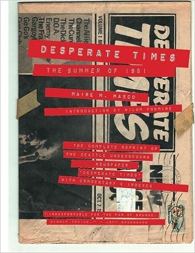 574b136194a11 Desperate Times: The Summer of 1981: Maire M. Masco, Wilum Pugmire ...