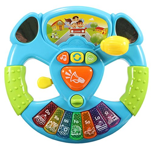Mini Intelligence Baby Kid Musical Instrumental Toy Electronical Developmental Lamp Song Funny (Jake And The Neverland Pirates Sleeping Bag)