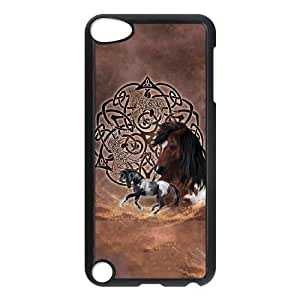 iPod Touch 5 Case Black Celtic Horse Layered OJ629450