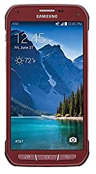 Samsung Galaxy S5 Active G870a 16gb Unlocked Gsm Extremely Durable Smartphone W 16mp Camera - Ruby Red