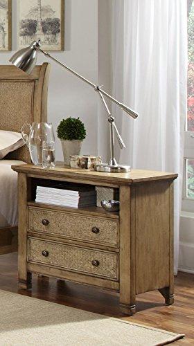 Progressive Furniture Kingston Isle Nightstand, Sand (Furniture Kingston)