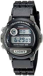 Casio Illuminator - Reloj (Resina, CR2016, 38 g, 45,5 x 42 x 10,5 mm, Negro)