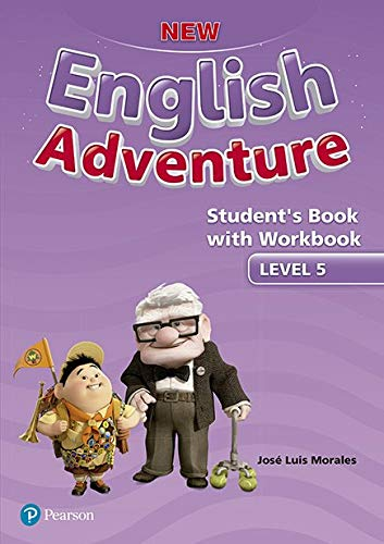 New English Adventure Student's Book Pack Level 5: Student's Book With Workbook