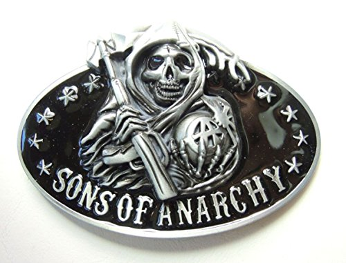 Sons of Anarchy belt buckle - Grim Reaper only - Sons Of Anarchy Costume Kids