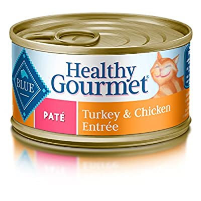 Click for Blue Buffalo Healthy Gourmet Pate Wet Cat Food