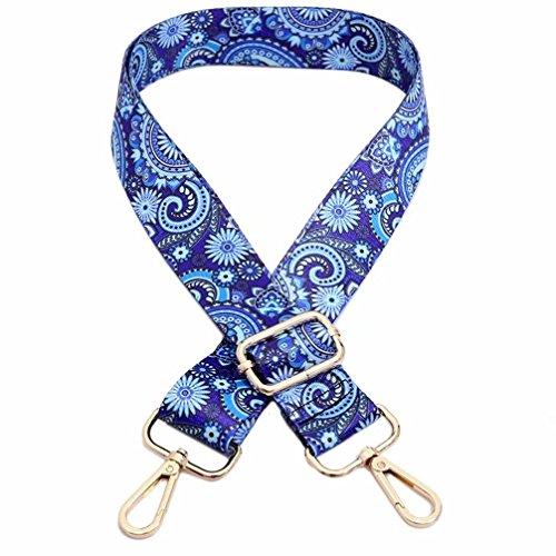 à main Bandoulière réglable pour Sangle Bandoulière Rechange Bretelle Main 140cm De et sac 78cm À Sac large De Bleu Courroie Lanière DIY xq0qBFYw