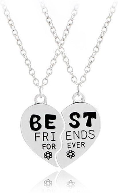 Pendant Necklace Best Friends Forever BFF Best Friends Friendship