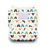 Thirsties Duo Wrap Diaper Cover with Hook and Loop, Hoot, Size 2
