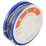 DealMux 0.8mm Diameter 1.5M Length Tin Lead Melt Solder Soldering Wire Reel