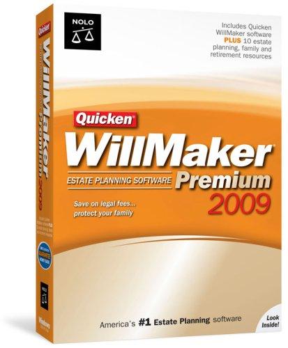 Nolo Press Quicken WillMaker Premium 2009