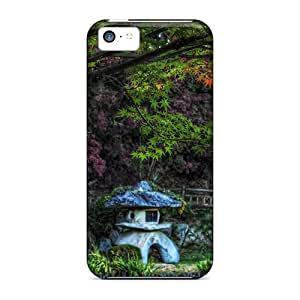 Anti-scratch And Shatterproof Beautiful Tree In Focus Phone Case For Iphone 5c/ High Quality Tpu Case