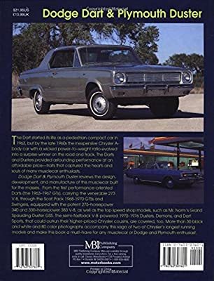 Dodge Dart and Plymouth Duster (Muscle Car Color History