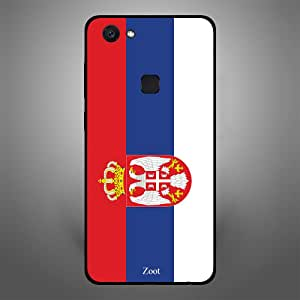 Vivo V7 Serbia Flag, Zoot Designer Phone Covers