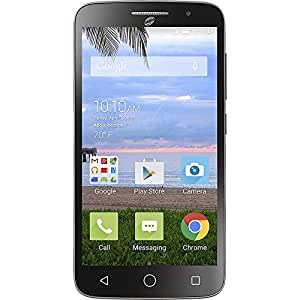 TracFone Pop Icon 2 Prepaid Carrier Locked - 5.0Inch Screen - 0GB - Black (U.S. Warranty)
