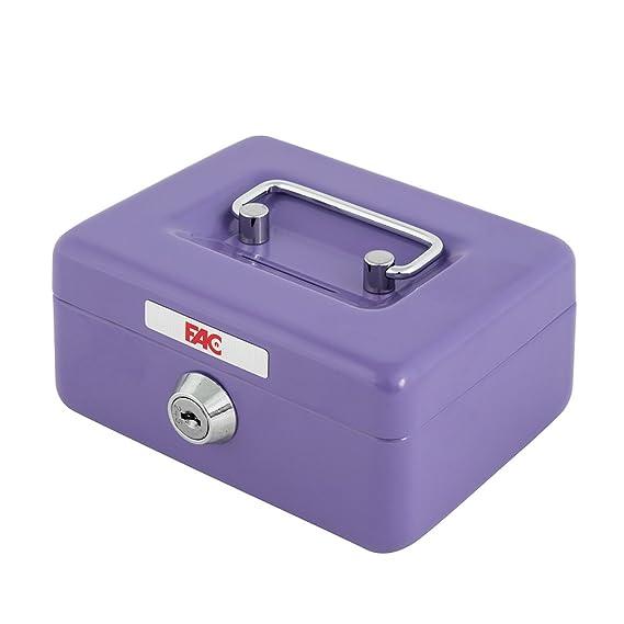 FAC 17016 - Mini caja de caudales con ranura, número 0, color verde, 0.5 L: Amazon.es: Bricolaje y herramientas