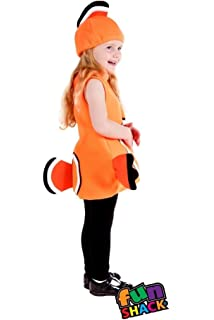 Fish Kids Costume 3 4 Years Amazoncouk Toys Games
