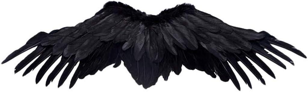 Ange Ailes Ange Ailes 60 x 40 cm Costume Carnaval Mardi Gras Noir Rouge Blanc