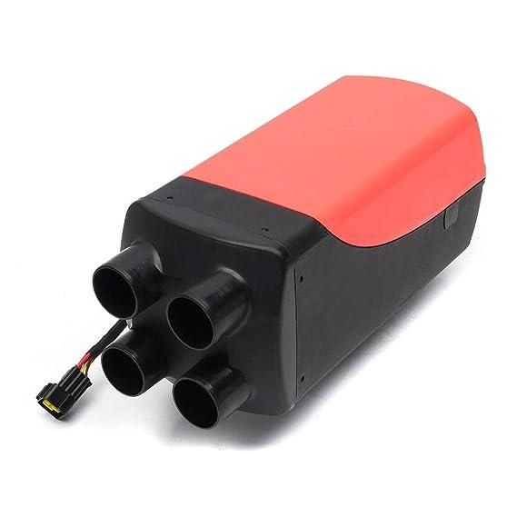 12V 8Kw Diesel Calentador Salida De Aire, Conducto, Termostato Caravana Autocaravana Rv + Lcd: Amazon.es: Bebé