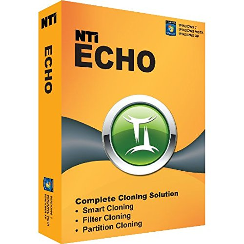 NTI Echo 3. [On Sale!] It Simply Works. Make an exact copy of a HDD or SSD.