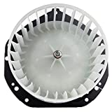 HVAC plastic Heater Blower Motor ABS w/Fan Cage ECCPP Front for 1994-2004 Chevrolet S10 /1991-2004 GMC Sonoma /1996-2000 Isuzu Hombre