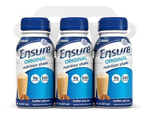 (Ensure Complete Balanced Nutrition Drink, Butter Pecan, 8-Ounce by)