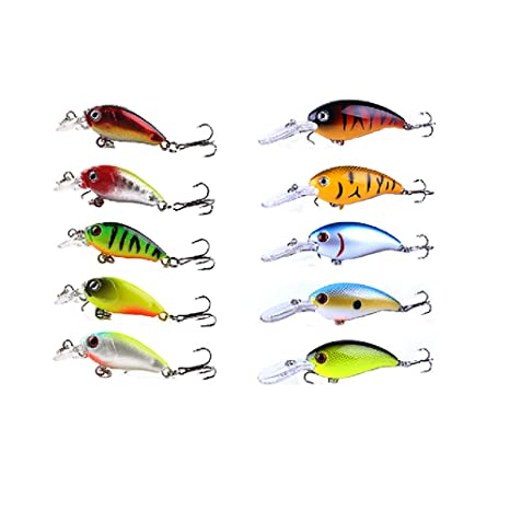 10 Pcs Artificial Soft Fishing Lure Worm Bait Multicolor Silicone Baits Lures